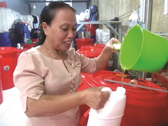 green products,waste treatment,Vietnam environment