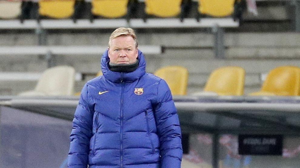 MU sẽ 'chặn' Liverpool, HLV Koeman sầu Barca
