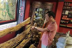Bộ sưu tập gỗ trầm hương độc nhất vô nhị ở Việt Nam