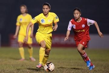 Vòng 12 giải nữ VĐQG: TKS Việt Nam bứt phá