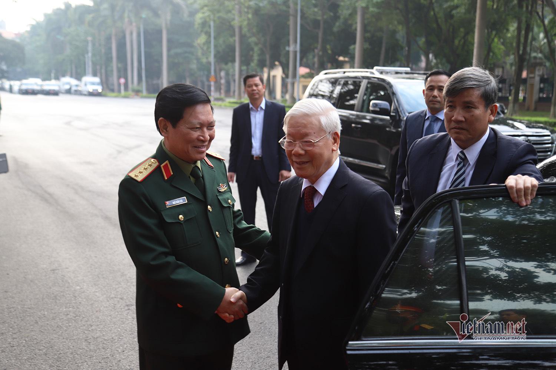 Tổng Bí thư, Chủ tịch nước dự hội nghị Quân chính toàn quân 2020