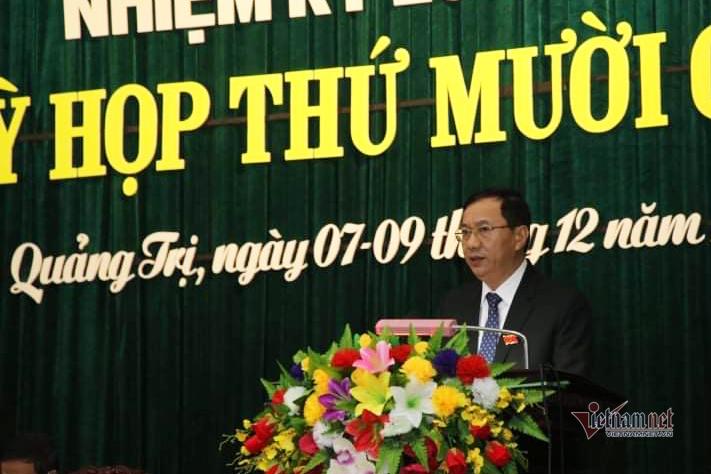 Chánh Văn phòng Tỉnh ủy giữ chức Phó Chủ tịch HĐND tỉnh Quảng Trị