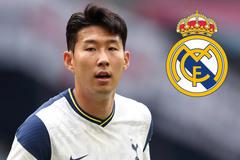 "Real Madrid nổ ""bom tấn"" Son Heung Min"