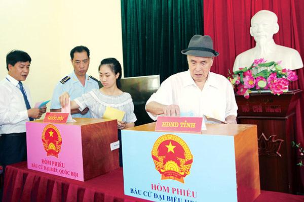 Ban hành hướng dẫn việc giải quyết tố cáo, khiếu nại về bầu cử ĐBQH