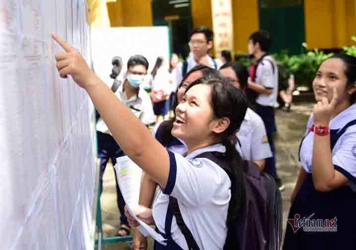 Đề xuất đổi cách tính điểm thi vào lớp 10 ở TP.HCM