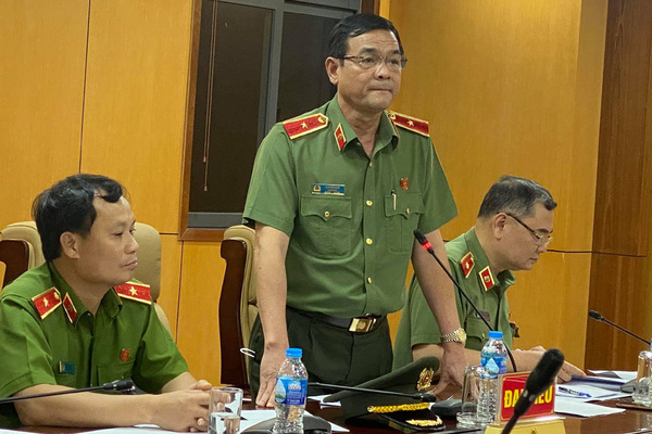 Thiếu tướng Lê Hồng Nam thông tin việc khởi tố 8 Công an phường Phú Thọ Hòa