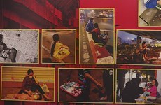 Daily struggles of street kids portrayed in exhibition