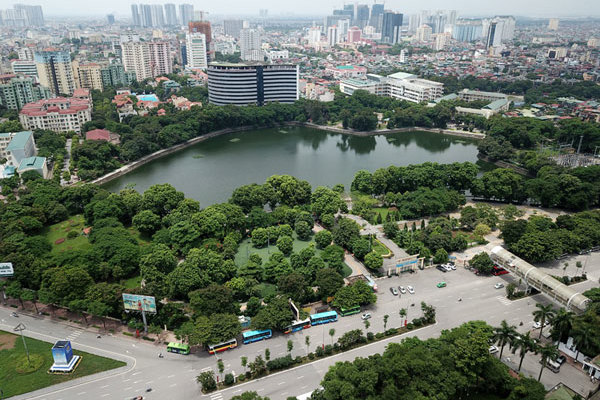 Hanoi lakes - green for a better life