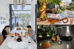 Biệt thự mới xây của vợ chồng Cường Đô La - Đàm Thu Trang
