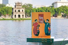 Tác giả đoạt giải B sách quốc gia ra mắt 'Dòng tranh dân gian Hàng Trống'