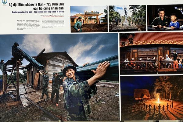 Bộ ảnh chống Covid-19 giành giải nhất cuộc thi 'Tự hào một dải biên cương'