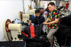 Handicapped businessman employs, trainspeople with disabilities