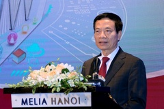 Toàn văn phát biểu của Bộ trưởng Nguyễn Mạnh Hùng về chuyển đổi số giáo dục