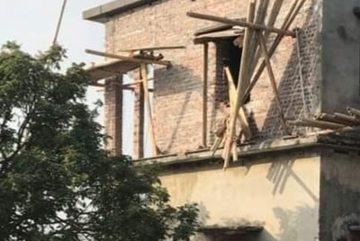 Ba người tử vong trong vụ sập giàn giáo ở Thái Bình