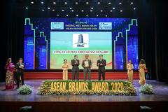 Thiết kế xây dựng BIC vào top 10 Thương hiệu mạnh ASEAN 2020