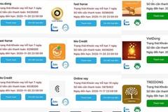 Quái chiêu 'hút máu' của các app cho vay tiền 'cắt cổ' con nợ