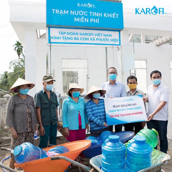Karofi: hành trình 5 năm mang 200 triệu lít nước sạch đến vùng khó