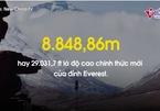 'Nóc nhà thế giới' cao thêm sau cuộc đua giữa Trung Quốc và Nepal