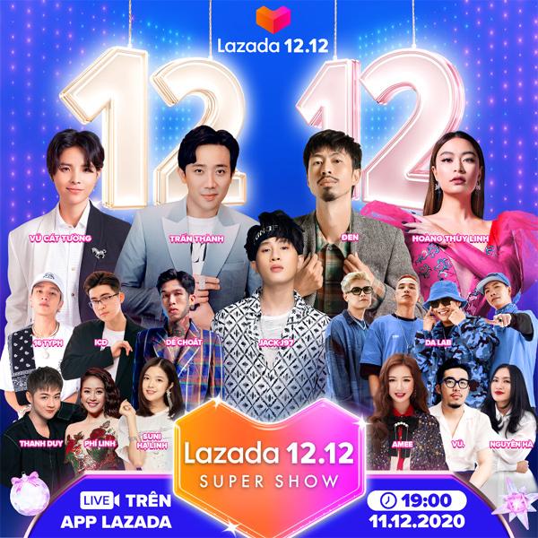 12 điểm nhấn của Lễ hội mua sắm 12.12 trên Lazada