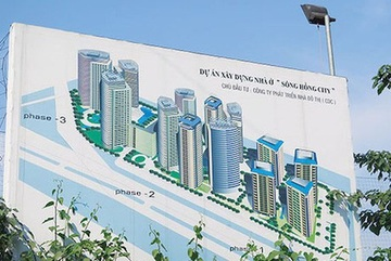 Siêu dự án ven Sông Hồng ở Hà Nội 25 năm vẫn nằm trên giấy