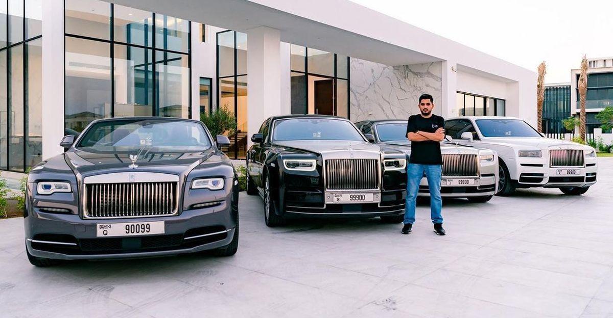 Tỷ phú 29 tuổi sở hữu dàn siêu xe Rolls-Royce biển số VIP