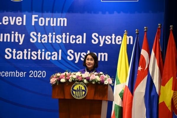Diễn đàn cấp cao về Hệ thống Thống kê Cộng đồng ASEAN và Hệ thống Thống kê quốc gia Việt Nam