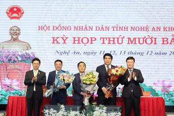 Bầu bổ sung 3 ủy viên UBND tỉnh Nghệ An