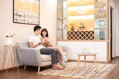 Không gian đa tiện ích ở căn hộ mẫu Tecco Elite City Thái Nguyên