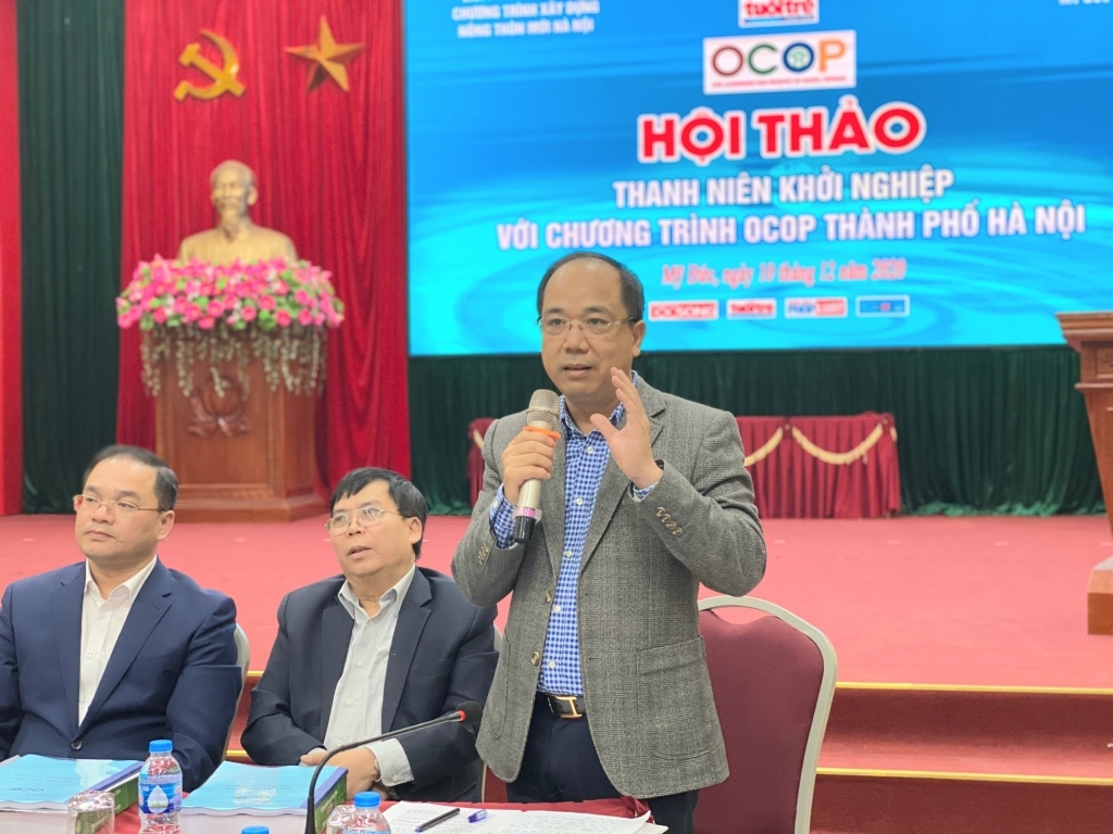Hỗ trợ thanh niên ngoại thành Hà Nội khởi nghiệp