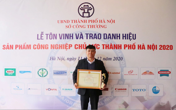 VONTA vào Top 10 Sản phẩm công nghiệp chủ lực TP. Hà Nội năm 2020