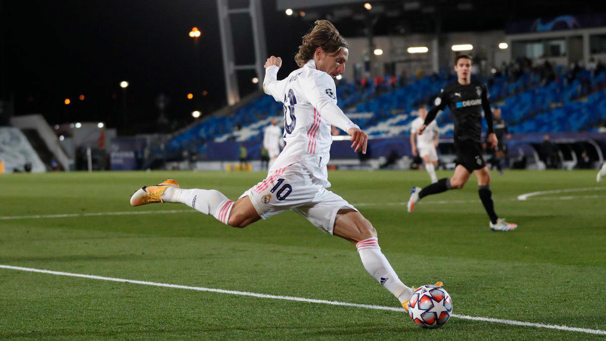 Derby Madrid: Luka Modric và vũ điệu vượt thời gian