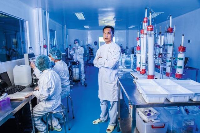 Sức mạnh 5.000 tỷ của 'cha đẻ' vắc-xin ngừa Covid-19 của Việt Nam