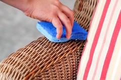 Những mẹo làm sạch và bảo dưỡng đồ nội thất bằng mây tre