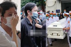 Vợ chồng Trường Giang suy sụp, NS Hoài Linh thất thần trong tang lễ nghệ sĩ Chí Tài