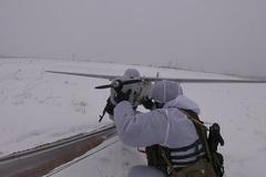 Xem UAV và pháo hạng nặng Nga 'song kiếm hợp bích'