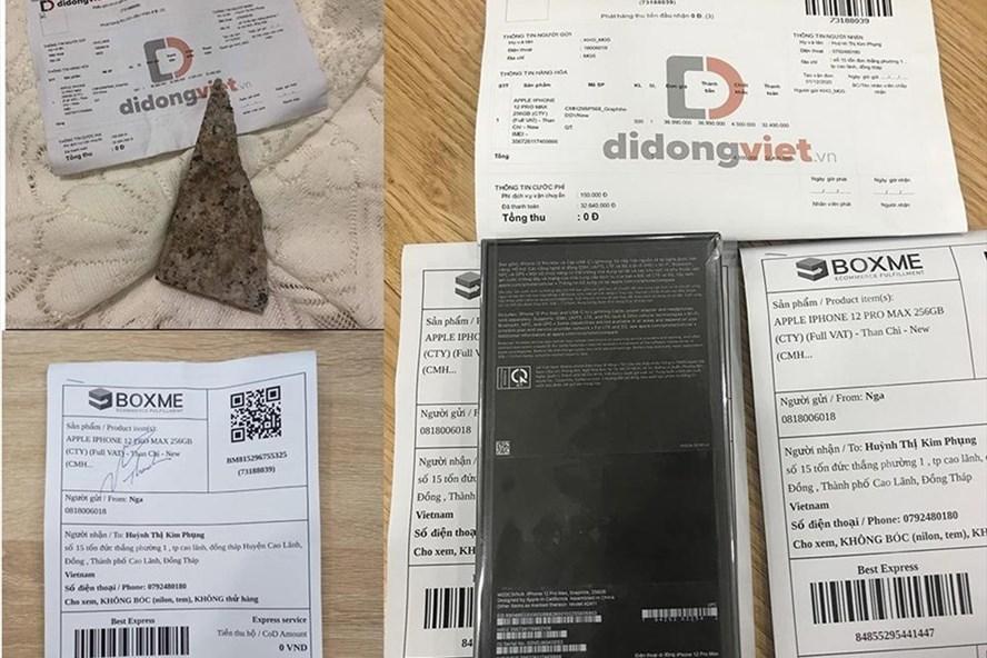 Mua iPhone 12 Pro Max nhận cục đá: Chưa bên nào nhận lỗi!