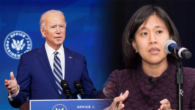 Ông Biden lý giải quyết định chọn đại diện thương mại người Mỹ gốc Hoa