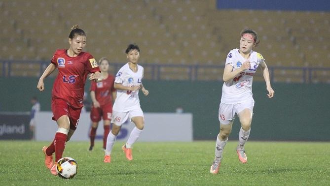 Vòng 14 giải nữ VĐQG: Đáng khen Sơn La, 2 đội Hà Nội cùng thua