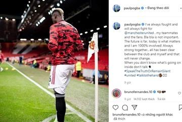 Pogba tuyên bố đanh thép với MU, cảnh báo 'không biết thì đừng nói'