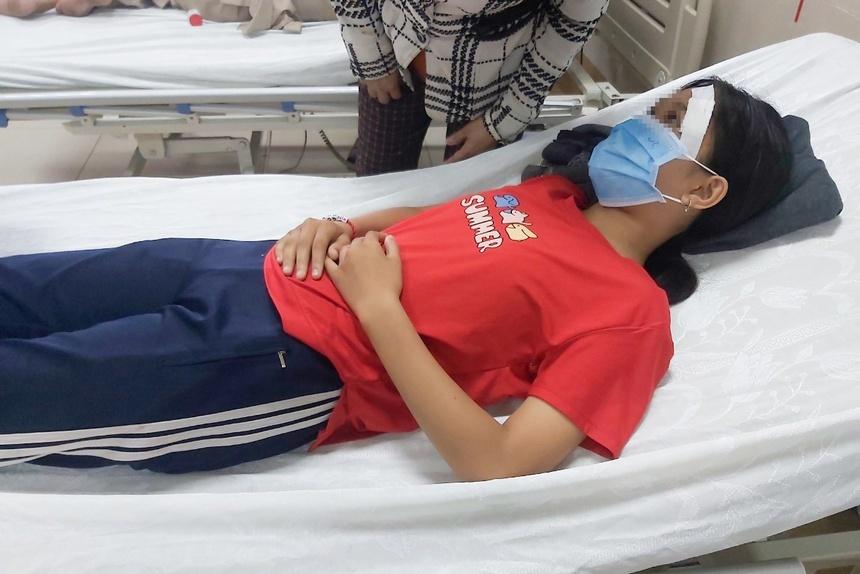 Nữ sinh ở Tây Ninh bị đánh nhập viện sau tai nạn giao thông