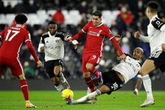 Xem video bàn thắng Fulham 1-1 Liverpool