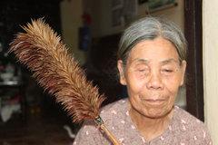 Làng chổi lông gà ở Hà Nội