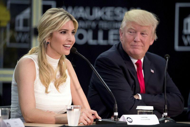 Rộ tin đồn con gái ông Trump sẽ chạy đua vào Thượng viện