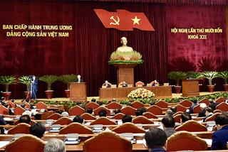 Trung ương cho ý kiến Quy chế bầu cử, thông qua dự thảo văn kiện trình Đại hội XIII