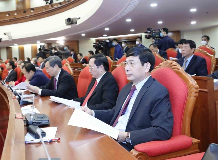 Hình ảnh khai mạc Hội nghị lần thứ 14 Ban Chấp hành Trung ương Đảng khóa XII