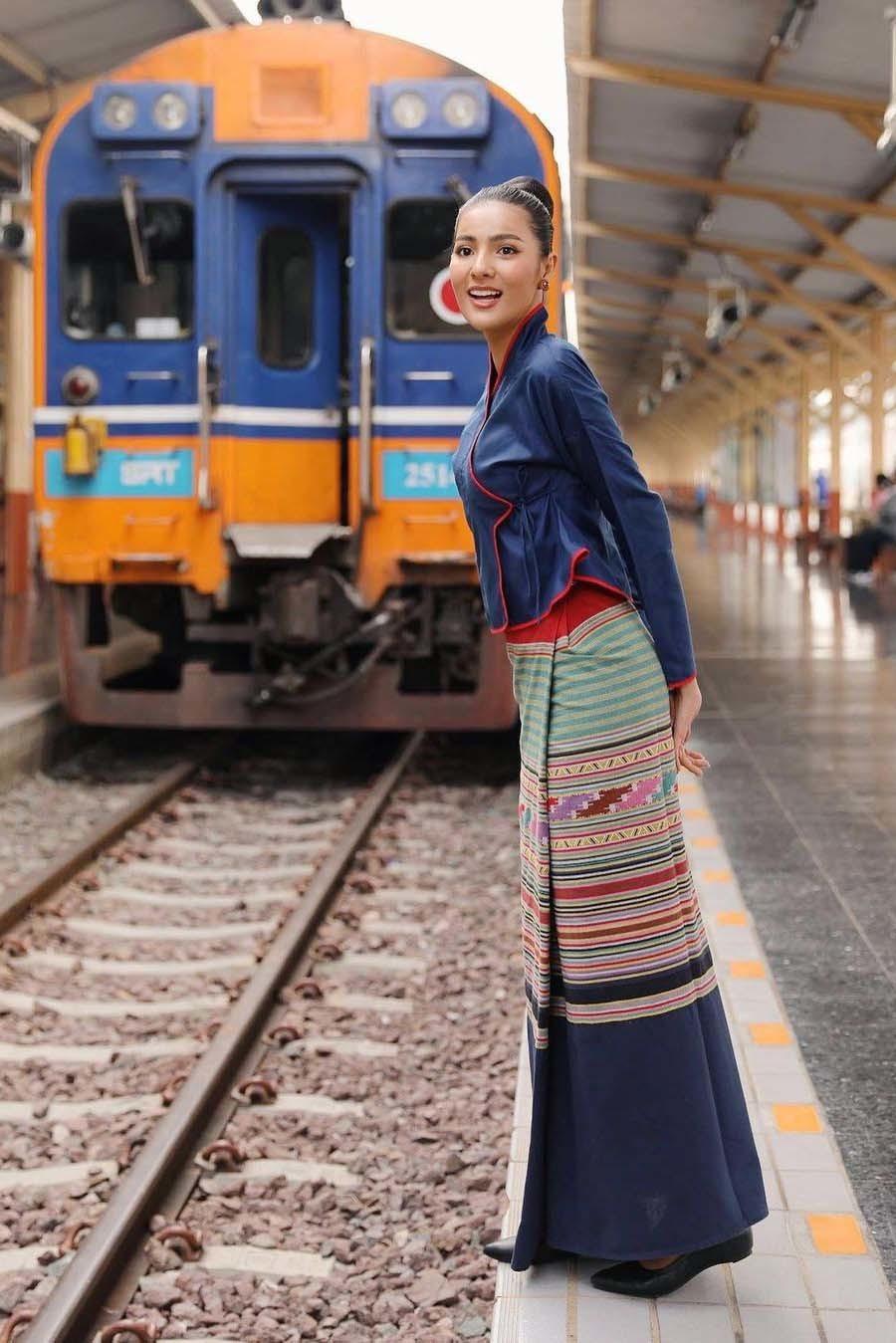 Vẻ gợi cảm của mỹ nhân 27 tuổi đăng quang Hoa hậu Thái Lan 2020