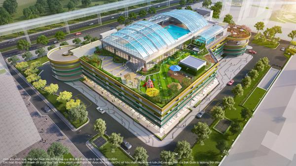 """Tổ hợp 5 tầng hiện đại cạnh The Zenpark mang tới cuộc sống """"nghỉ dưỡng kép"""" bên cạnh vườn Nhật nội khu"""