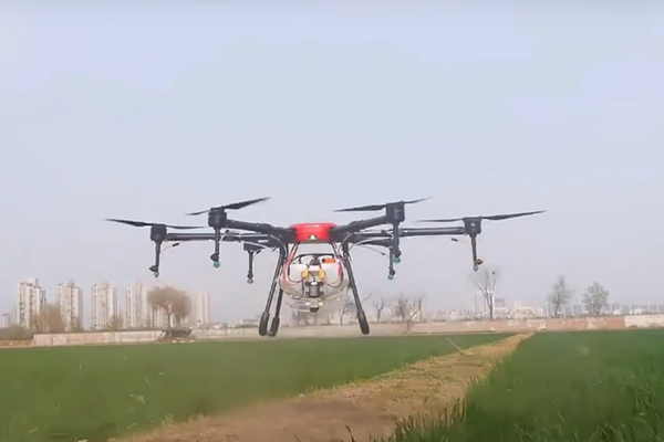 Scientists help farmers save money with locally made drones