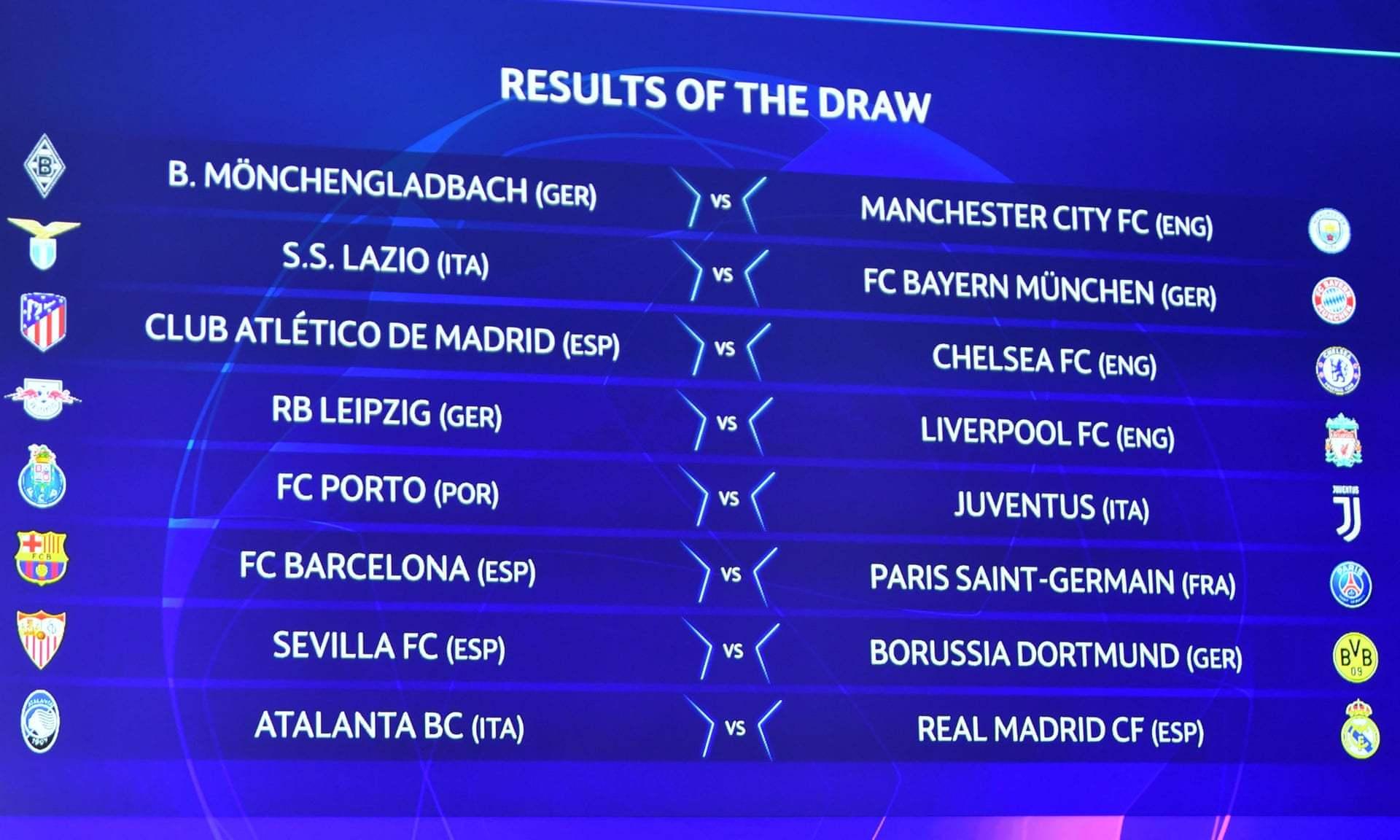 Barcelona,Real Madrid,Bayern Munich,Liverpool,Man City