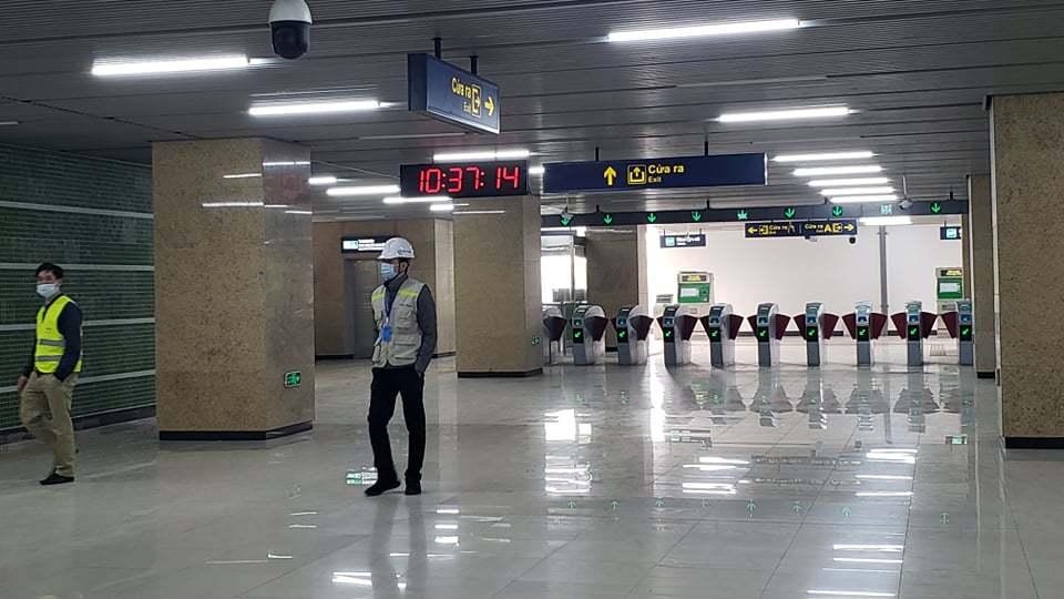 Tàu đường sắt Cát Linh - Hà Đông: Đã in hàng triệu thẻ vé